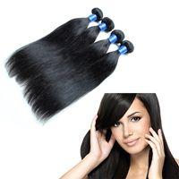 Wholesale Cheap Wholesale Chemicals - CHEAP brazilian human hair straight remy 100% Natural Human Hair, No chemical dye 4pcs lot brazilian virgin hair Straight