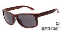 Wholesale cycling online - 9 Colors Wood Sunglasses Grain Sunglasses EU and US Design Sunglasses for men Sports Eyewear Cycling Sunglasses for women