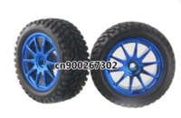 Wholesale Rally Parts - 4x RC Pull Rally 1:10 Car On Road 1:16 Off-Road Wheel Rim & Tyre,Tires 6002-7004 Parts & Accessories