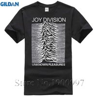 Wholesale High Pleasure - 2017 Summer Joy Division Unknown Pleasure Men T-Shirt 100% Cotton High Quality Hipster Short Sleeve O-Neck Tops Tee For Fans