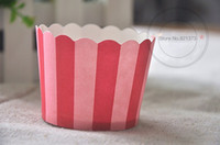 Wholesale Cheap Wholesale Christmas Cups - Free Shipping christmas decoration cupcake cups liners cases, cheap high temperature mini cake cup baking tools party supplies