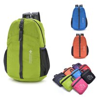 Wholesale Travel Back Bags For Men - Men's Outdoor Sports Backpack Nylon Waterproof Foldable Travel Hiking Cycling Back Bags for Women Portable Students School Bags 8 Colors