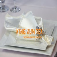 Wholesale Cheap Table Napkins For Parties - Cheap Price Satin Table Napkin For Wedding Table Cloth And Event Decoration