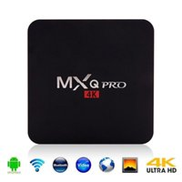 Amlogic S905W MXQ Pro 4K 1GB 8GB TV Box Quad-core Android 7.1 TV Streaming Boxes Android TV Box Reproductor multimedia