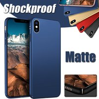 Für iPhone X Ultra Thin Candy Slim Shockproof Matte Matt Ganzkörper Coque Capa Hartplastik PC Cover Case für iPhone 8 7 Plus 6 6S