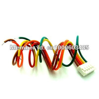 Wholesale Lipo Balancing - 10 pairs lot 4S1P 14.8v LiPo Battery Balance Charger Cable IMAX B6 Plug Wire with connector plug
