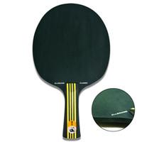 hrt tenis de mesa al por mayor-Al por mayor-MADERA NEGRA XVT ALLROUND CLLASIC hoja de tenis de mesa / tenis de mesa raqueta / tenis de mesa bat envío gratis