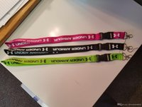 Wholesale Wholesale Hot Clothing For Women - wholesale Hot 20pcs lot UA clothing neck Lanyard for MP3 4 cell phone key chain lanyards Keychains 9 colors can pick , FREE SHIPPING