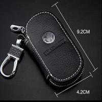 Wholesale Benz Key Leather - Mercedes Benz Car Key Cover Leather Case Mercedes Amg Cla Clk W124 W203 W211 W205 W220 W210 Auto Leather Key Cover Accessories