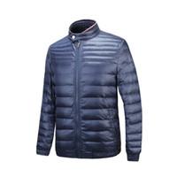 Wholesale Parka Style Jacket Men - M176 Luxury Brand men spring autumn jacket thin Manteau French brand British style Man Down and parka anorak Homme Veste