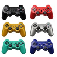 Wholesale Sony PS3 Wireless Bluetooth Game Controller GHz Colors For SIXAXIS Playstation Control Joystick Gamepad Top Sale