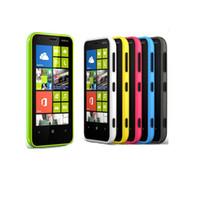 kamera-handy freischaltete gps großhandel-Entsperrt Original Nokia Lumia 620 Windows Handy Dual-Core 512 M / 8G Kamera 5MP Wifi GPS Handy