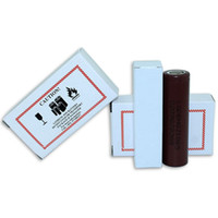 Wholesale Electronic High Power - High Quality HG2 18650 Battery 3000mAh Max 35A 3.6V Electronic Cigarette Rechargeable Battery Power for LG Cells Lithium Battery