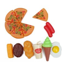 Wholesale Play Health - Wholesale- 13 PCS Set Pretend Play Classic Kitchen Toys Cut Interactive Health DIY Toy Kids Children Favorite Girl Fruits Vegetables