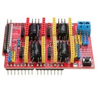 arduino erweiterungskarten groihandel-4 teile / los Freeshipping V3 Graveur 3D Drucker Neue CNC Schild Erweiterungskarte A4988 Fahrer für Arduino