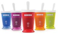 Wholesale Slush Cups - HOT Sale Slush Shake Maker The authentic Home-made ice Cream Tools ice cream cup creative cup free shipping WA0330
