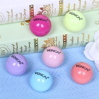 Wholesale 6 Colors Popular Women Ball Cola Bottle Lip Balm New Girls Moisturizing Lip Smacker Lovely Makeup Gift for Gossip H044