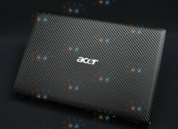 "Wholesale Acer 756 - KH Laptop Special Carbon Crocodile Snake Rust Leather Cover Sticker Skin Protector For Acer Aspire AO 756 11"" version"