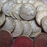 Wholesale Cheap Drawing Sets - A Whole Hole Set Of Peace Dollars(1921-1964) (25 Pcs) Promotion Cheap Factory Price nice home Accessories Silver Coins