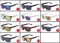 Wholesale sports sunglasses logo resale online - Cheap sunglasses Sports sunglasses for men Brand Designer L9102 with logo color choose