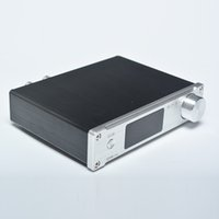 Wholesale optical digital audio input resale online - Freeshipping SMSL Q5 Pro High Quality HiFi Pure Digital Home Audio Amplifier Input Optical Coaxial USB Power W Remote Control