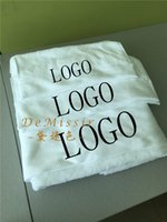 Wholesale Towel White Hands - Luxury Cotton White Towel 3PCS Set Bath + Face +Hand Towels Home Textile