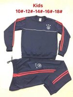 Wholesale Kids Football Suits - kids TOP QUALITY 17 18 Ajax Football tracksuit 17 18 Netherland League Ajax Maillot de foot KLAASSEN MILIK VAN BASTEN SOCCER Training suit