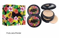 Wholesale Free Decking - HOT NEW Fruity Juicy Collection Face Powder Double-deck 3 color DHL free shipping