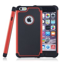 Wholesale iphone 4s cases clips resale online - Hybrid Hard Armor Cases Heavy Shockproof iN PC Silicone Cove Case For iPhone S S S Plus iPod Touch