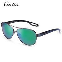 Wholesale Carbon Fibre Alloys - Polarized sunglasses 3210 oval carbon fibre sunglasses men 61mm classial glasses with original box