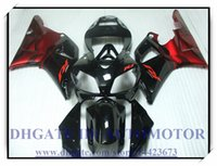 КРАСНЫЙ ЧЕРНЫЙ ВПРЫСКА ABS BRAND NEW обтекателя KIT 100% FIT FOR YAMAHA YZFR1 1998 1999 YZF R1 98 99 YZF1000 YZF R1 1998-1999 годов # 9YH64