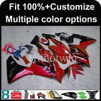 Wholesale Honda Cbr125r Fairings - Injection mold watermelon red motorcycle cowl for HONDA CBR125R 2004-2005 04 05 CBR 125R 04-05 ABS Plastic Fairing