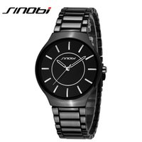 Wholesale Sinobi Male Watch - Luxury Top Brand Men's Boy Military Dress JAPAN Quartz Steel Watches Casual Clock Wristwatch Relogio Masculino Male SINOBI