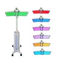 luzes médicas led venda por atacado-Alta Qualidade Médica Lâmpada PDT Led Terapia Da Luz Com 7 Cores de Luz LED Para O Tratamento Da Acne Rejuvenescimento Da Pele Remoção de Rugas
