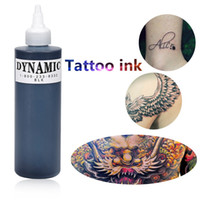 Wholesale Drop Ship Tattoo - Professional 1 Bottle Tattoo Ink for Lining and Shading Newest Tribal Liner Shader Pigment Black Newest 249ML Drop Shipping