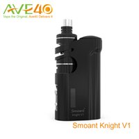 Wholesale Night Knight - Smoant Knight V1 TC Starter Kit Smoant Talos V1 Tank with K night mod pre-made coil