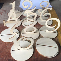 10pcs fashion 120 letters alphabet wooden tables numbers wedding seat cards rustic wedding birthday party decoration
