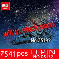 Wholesale Ultimate Models - NEW LEPIN 05132 7541Pcs Ultimate Collector's Model Destroyer Building Blocks Bricks Toy 75192