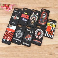 Wholesale Skull Cell Case - TPU Soft Multi Patterns Cell Phone Case Tiger Skull Painting Protector Mobile Shell Phone For Iphone 6 6s 7 plus CKCPC-019