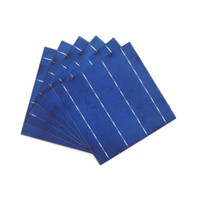 Wholesale Pv Solar Cells - 10 Pcs 40W 0.5V A Grade 156 * 156MM PV Polycrystalline Silicon Solar Cells 6x6 For DIY Poly Solar Panel