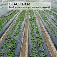 Wholesale Garden Heating - Thicken Industrial Packaging PE Black Film Vegetables Breeding Garden Greenhouses Heat Preservation Film Custom Mulching Film