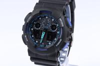 hommes menés de montre-bracelet achat en gros de-Date des montres de sport pour hommes Montres-bracelets imperméables Montre numérique de luxe 13 couleurs