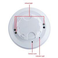 Wholesale Covert Video Surveillance Camera - 16GB HD 1280x720 Mini Smoke Detector Camera Spy Hidden DVR Video Aduio Recorder Mini DV DVR Home Covert Security Surveillance Camcorders