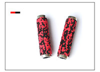 Wholesale bikes double - Wholesale-A Pair Fixed Gear Soft Sponge Mountain Bike Bicycle Handlebar Grip Durable Double Lock-on Grip Outdoor Sports Bicycle Part 6198