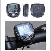 Wholesale Wireless Waterproof Bicycle Odometer Speedometer - 10.5*7*4cm 83g Waterproof Wireless Digital LCD Night version Bike Cycling Speed Computer Bicycle Speedometer Odometer