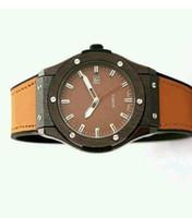 Wholesale Cheap Water Resistant Watches - dropshipping wholesalers suppliers cheap watches men watches 2017 luxury brand designer unique leather blue gold face glass quartz movement