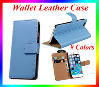 Wholesale Iphone I5c Cases - Wallet PU case Leather Case Cover Pouch with Card Slot Photo Frame For iPhone5 5S, i5C, i6S, iphone 6s plus iPhone7 iPhone7plus,Note7