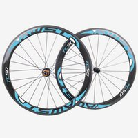 Wholesale AWST newest c carbon clincher mm width powerway carbon hubs basalt brake surface full carbon road bicycle bike wheelset