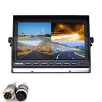 960x240 split screen display - Car Monitor CH PIN DC12V V Inch Split Quad LCD Screen Display Color Rear View Monitor for Car Truck Bus Reversing Camera