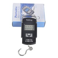 Wholesale Lcd Luggage Scale - Outdoor Portable 50kg   10g LCD Electronic Balance Digital Fishing Hook Lage Weighing Hanging Digital Scale 2508019